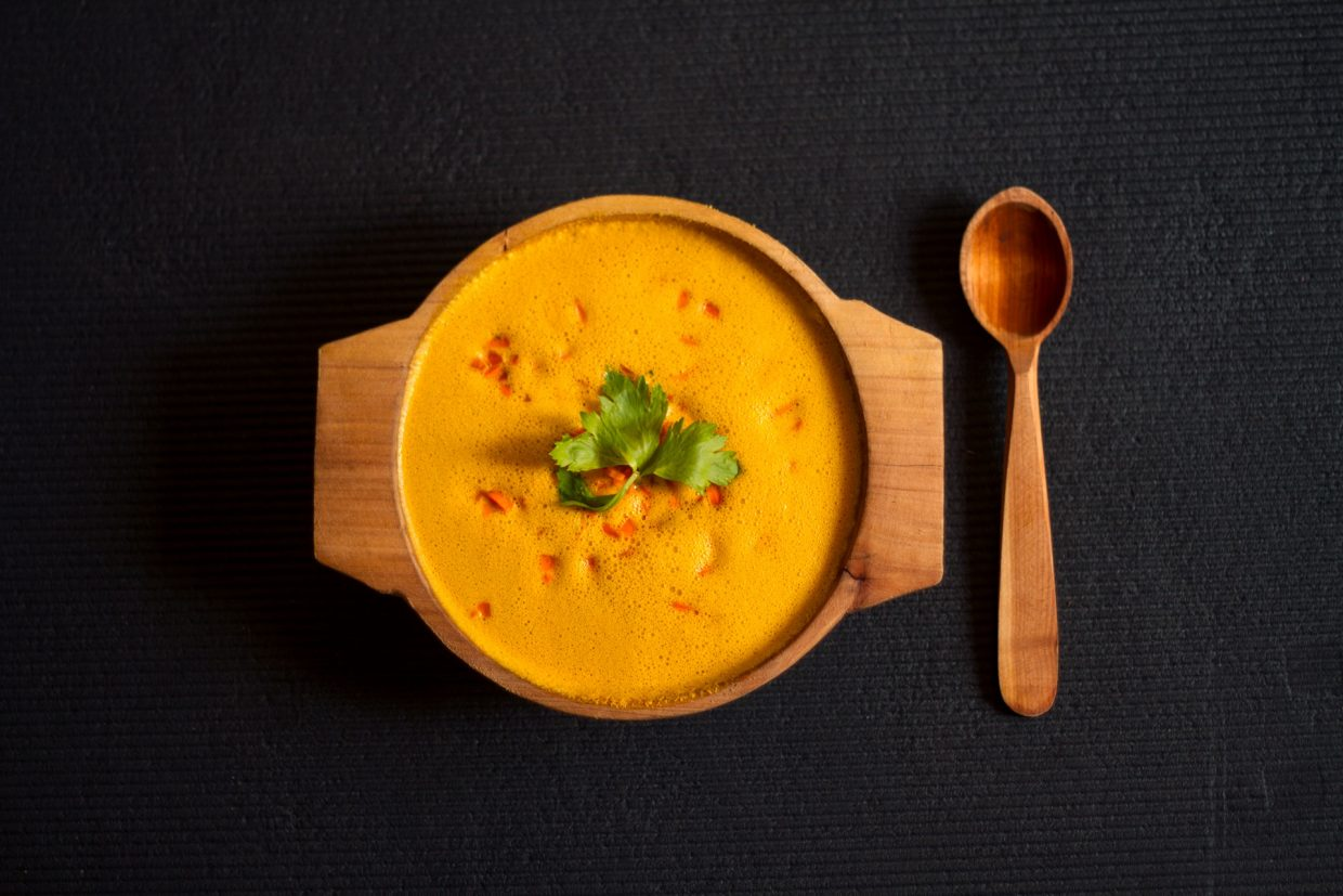 raw vegan carrot soup recipe