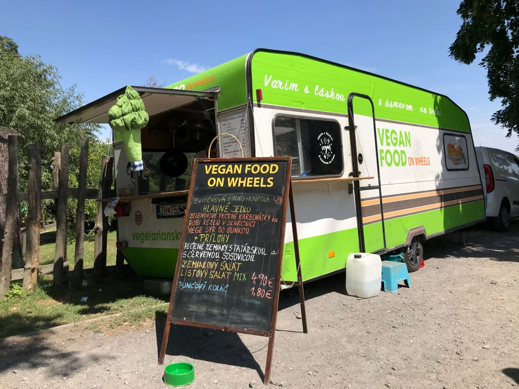 Vegan food on wheels
